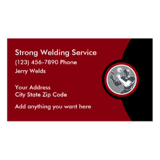 Professional Welding Services Business Card