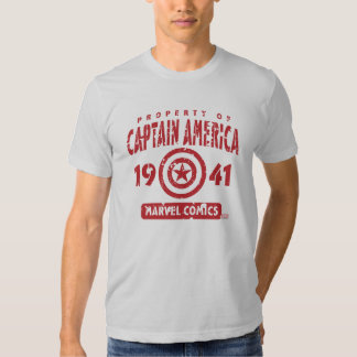 Property Of Captain America Tshirts