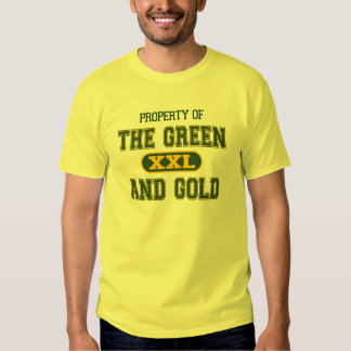 Property of The Green and Gold1 T-shirts