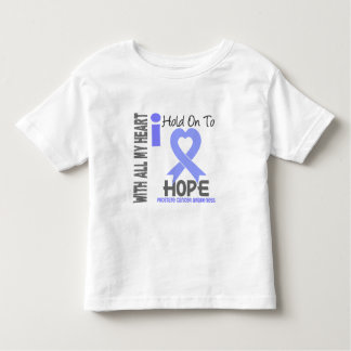 Prostate Cancer I Hold On To Hope Tshirt