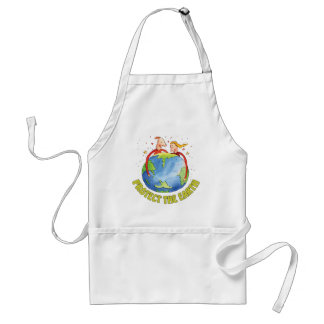 Protect The Earth Standard Apron