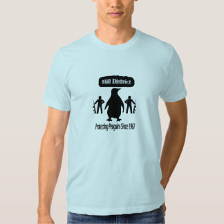 Protecting The Penguins Blue T-Shirt