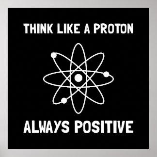 Proton Always Positive Poster