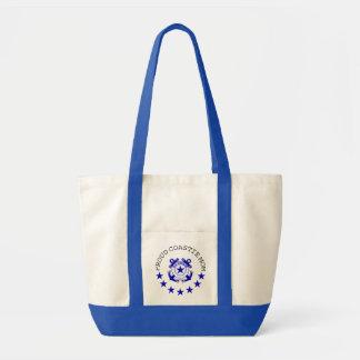 Proud Coastie Mom Impulse Tote Bag