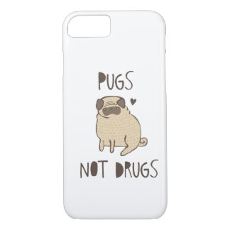 Pugs Not Drugs iPhone 7 Case