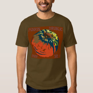Punkin Drublic-Enemy No ! T-shirts