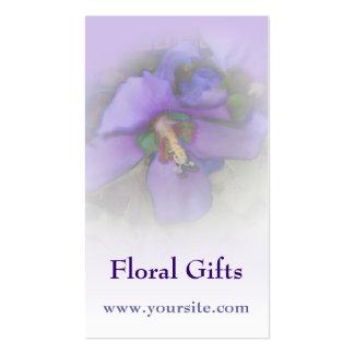 Purple Hibiscus Business Card