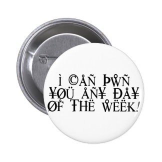 Pwn You 2 Inch Round Button
