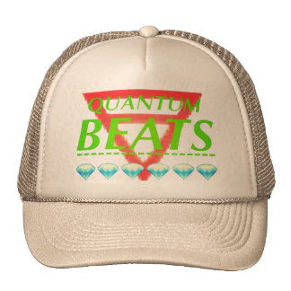 Quantum Snap Back (White) Trucker Hat
