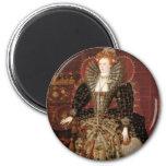 Queen Elizabeth I of England 2 Inch Round Magnet
