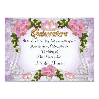 Quinceanera invitation 15th Birthday