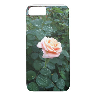 Rain on the Rose iPhone 7 Case