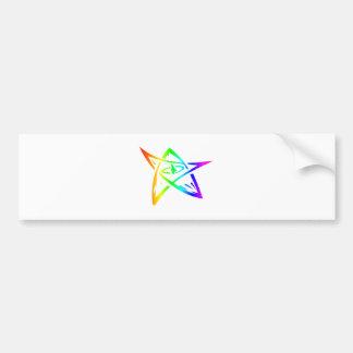 Rainbow Elder Sign Bumper Sticker