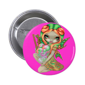 """Rainbow Sherbet Fairy"" Button"