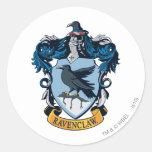 Ravenclaw Crest Round Sticker