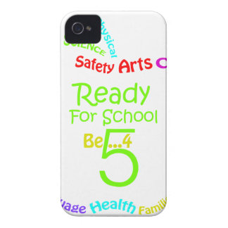 Ready for School B4Five - Apple iPhone 4 Case-Mate Case
