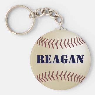 Reagan Baseball Keychain by 369MyName
