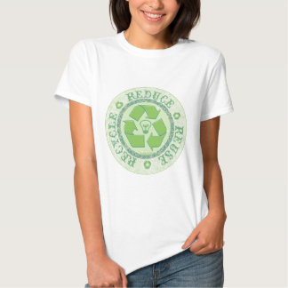 Recycle Earth Day Gear T Shirts