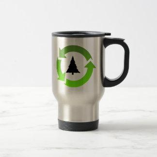 recycle stuff 15 oz stainless steel travel mug