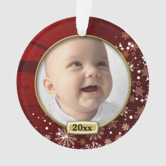 Red Frame Baby's 1st Christmas