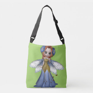 Red Hair Woman Fairy Princess Medium Bag