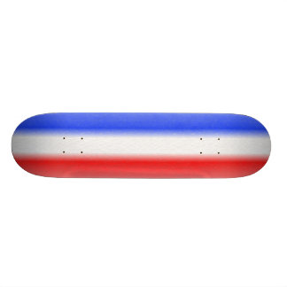Red White and Blue Stripe of the American Flag Skate Deck