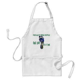 Reducing my carbon footprint apron