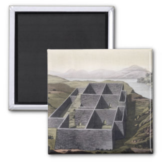 Remains of an Inca palace at Callo, Peru, from 'Le Square Magnet