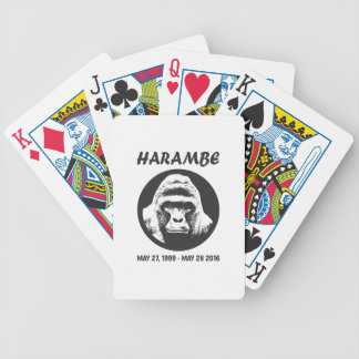 Remember Harambe Deck Of Cards
