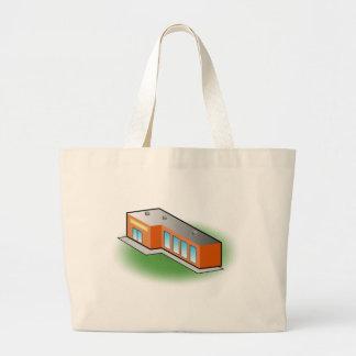 Retail Store Building Icon Jumbo Tote Bag