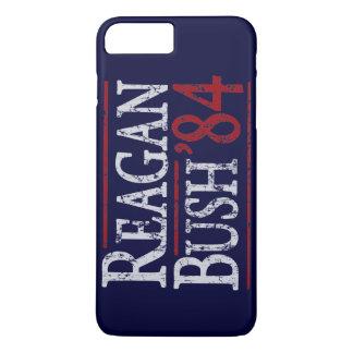 Retro Bush Reagan 84 Election iPhone 7 Plus Case