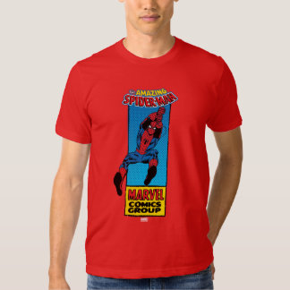 Retro Spider-Man Comic Graphic T Shirts