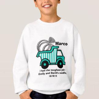 Ring Bearer Dump Truck Shirt