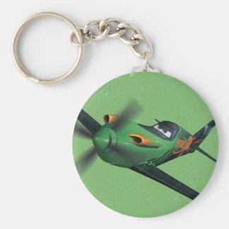 Ripslinger No. 13 Basic Round Button Keychain