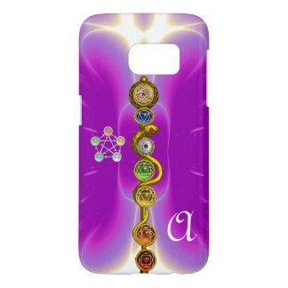 ROD OF ASCLEPIUS 7 CHAKRAS,YOGA ,SPIRITUAL ENERGY SAMSUNG GALAXY S7 CASE