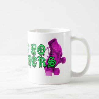 Roller Derby - Take No Prisoners! Classic White Coffee Mug