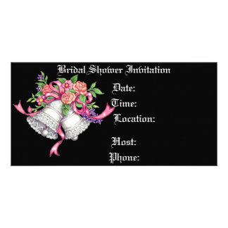 Romance - Bridal Shower Invitation Photo Card