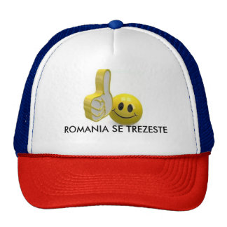 ROMANIAN HAT THUMBS UP