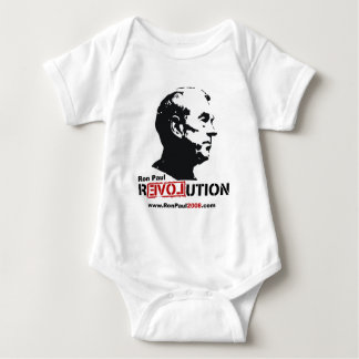 Ron Paul face Stencil - Revolution Tshirt