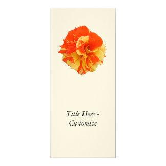 "Rose 4"" X 9.25"" Invitation Card"
