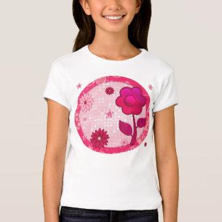 Rose à l'ADO de TWEEN orné de bijoux de jeu Tee Shirt