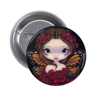"""Rose Fairy"" Button"