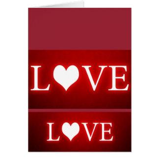 Rose romantic water color bridal love greeting card