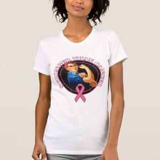 Rosie le rivoir plus fort que le cancer du sein tee-shirt