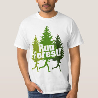 Run Forest, Protect the Earth Day Tshirt