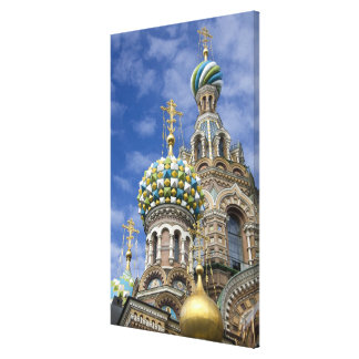 Russia, St. Petersburg, Nevsky Prospekt, The Gallery Wrapped Canvas