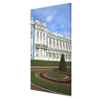 Russia, St. Petersburg, Pushkin, Catherine's Stretched Canvas Print