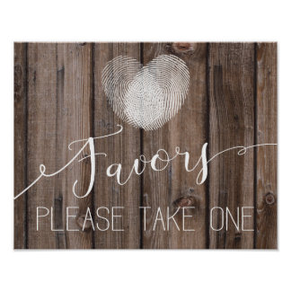 rustic wood favor Wedding sign Guestbook Print