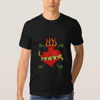 Sacred Heart Tattoo Shirt - Love