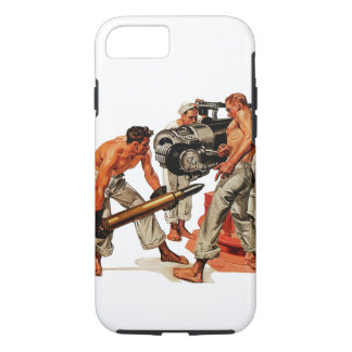 Sailor Hunks Loading the Big Gun iPhone 7 Case
